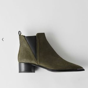 Acne Black leather Chelsea boot